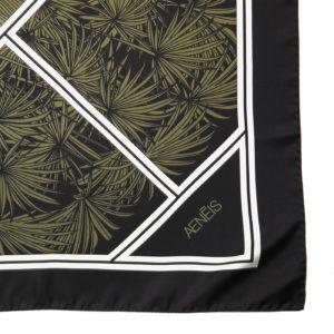 Botanical Illusion silk scarf