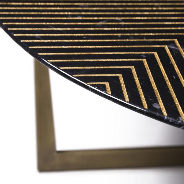 Gold Radius Nero Marquina 80