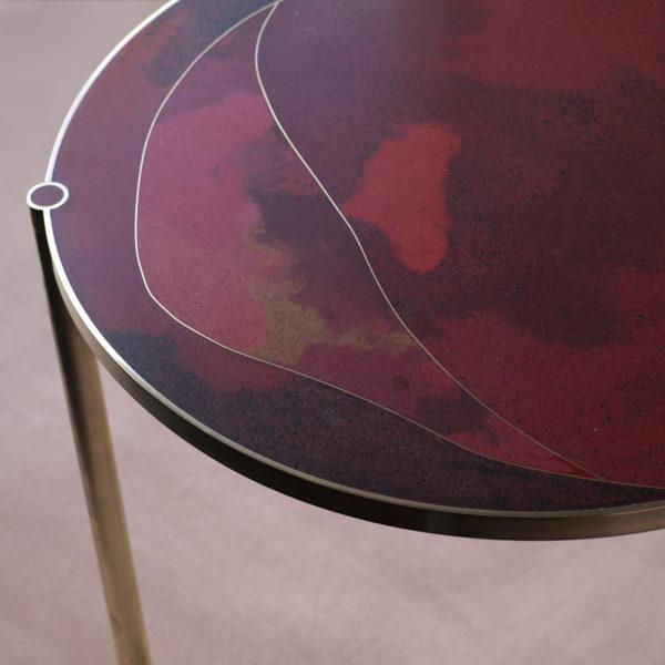 Tinct Table – Vermillion