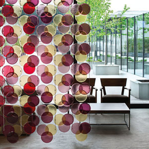 RGB – Murano Glass Curtain and Divider