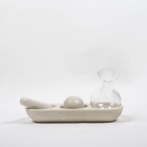 Versatile Glasses and Bottle Trio