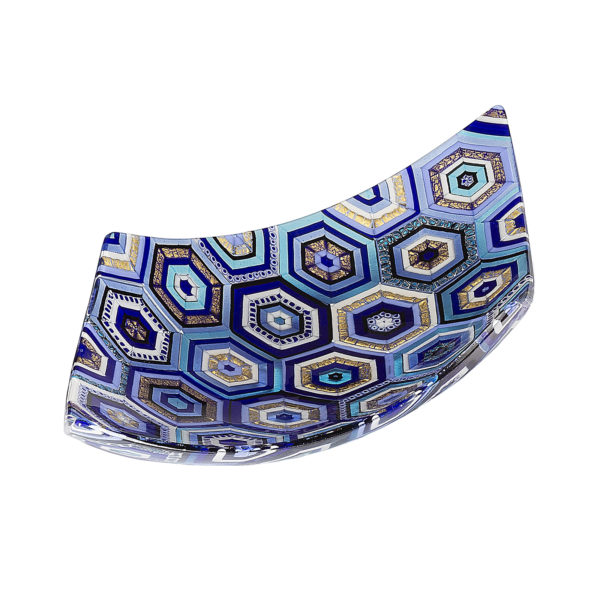 Aquilone Maiolica Blue Centerpiece