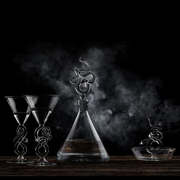 Serpentine Decanter