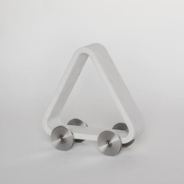 Velocimano Triangle Sculpture