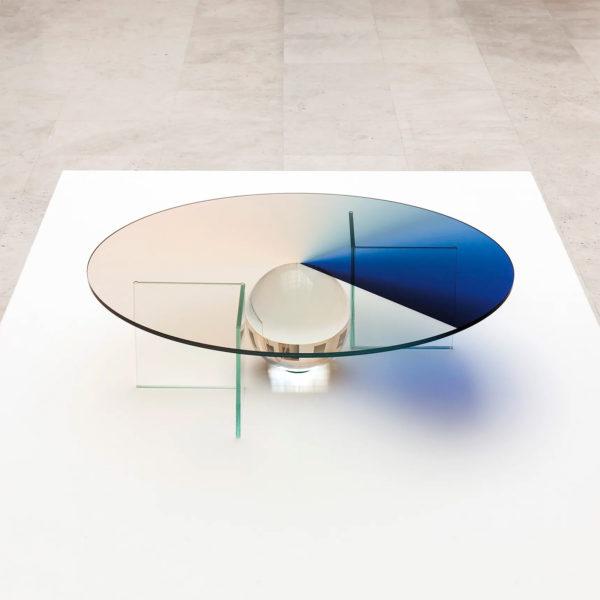 Colour Dial Table Indigo Large