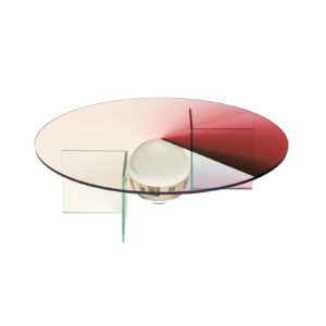 Colour Dial Table Ruby Small