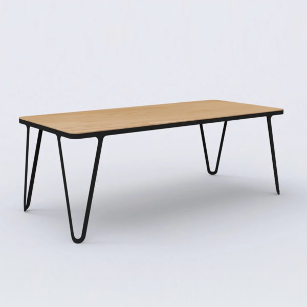 Loop Table Oak