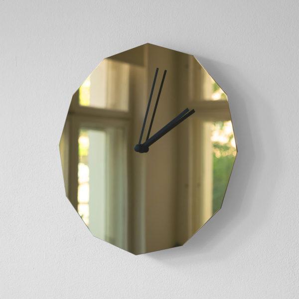 Twelve Brass Clock