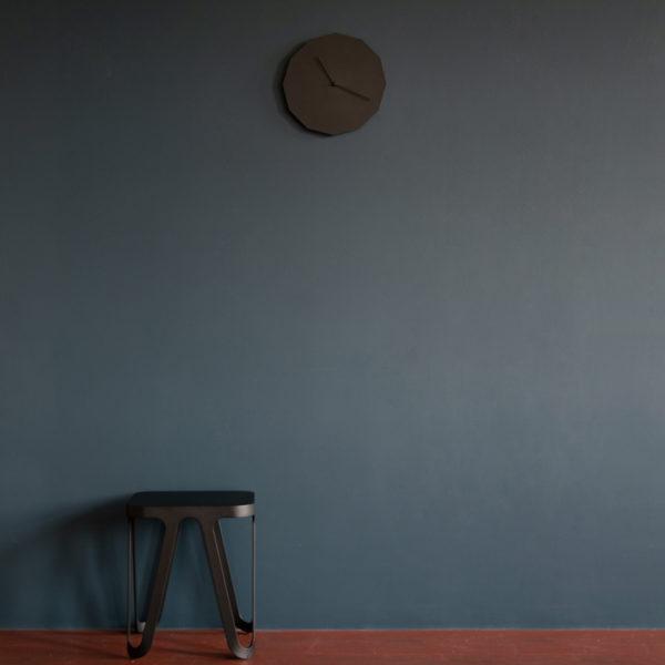 Twelve Steel Clock