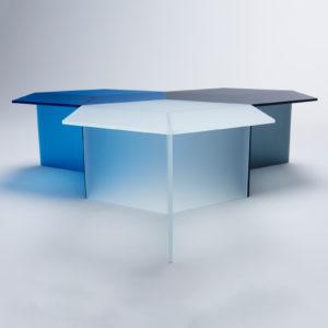 Isom Square Satin Glass