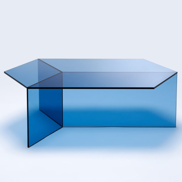 Isom Oblong Clear Glass