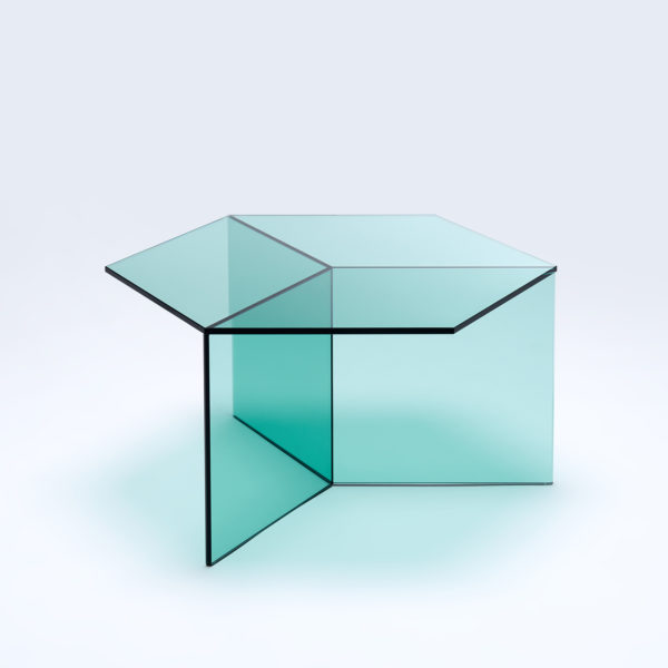 Isom Square Clear Glass