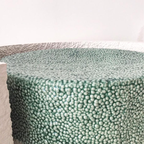 Textured Side Table