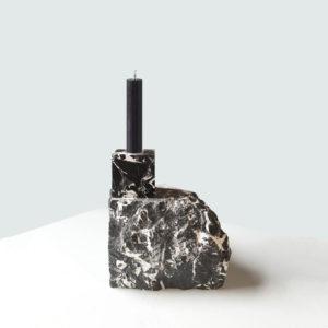 Stone Age Candle Holder