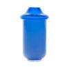 Volcano Glass Vase Blue Medium