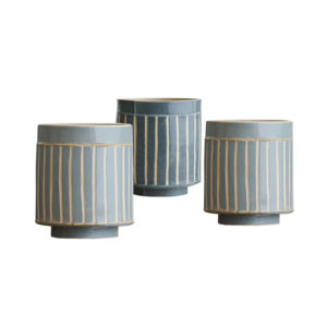 Pattern & Surface Small Vessel Set of 3