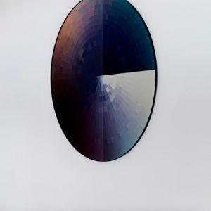 Colour Swatch Mirror Black