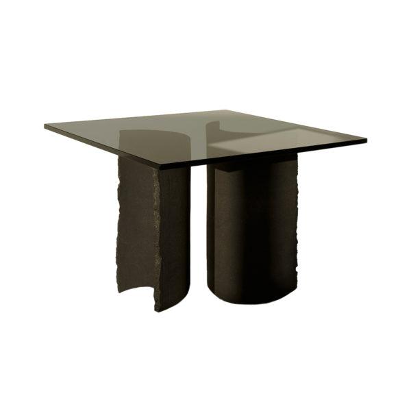Common Effort Black Side Table