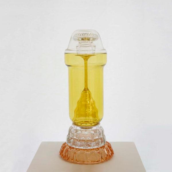 Honey G Glass Vase
