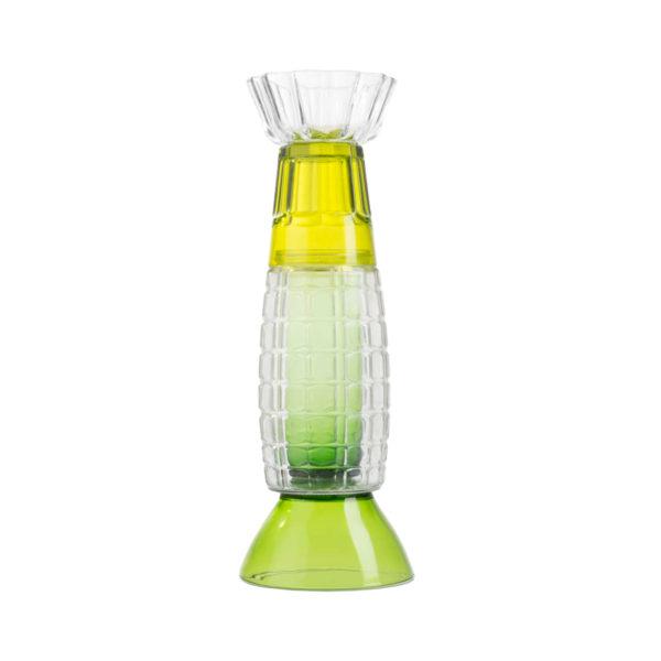 Nobody Knows Me Glass Vase