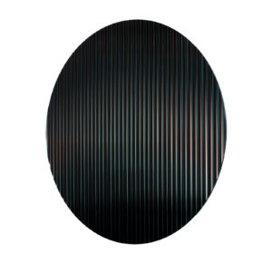 Colour Shift Panel Round Black