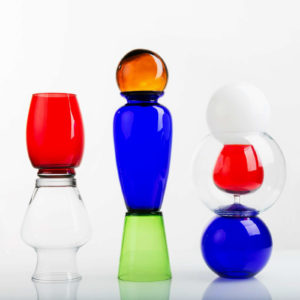 Aigua Blava Glass Vase