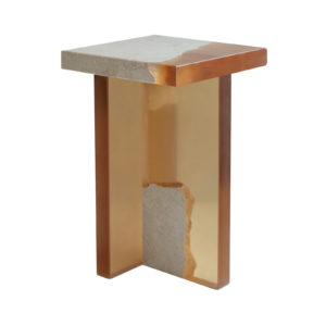 Fragment Wood Side Table Delisart