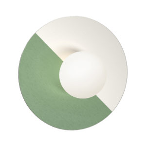 Disc and sphere revisited Wall Sconce