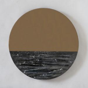 Orizon Blacksea Round Mirror