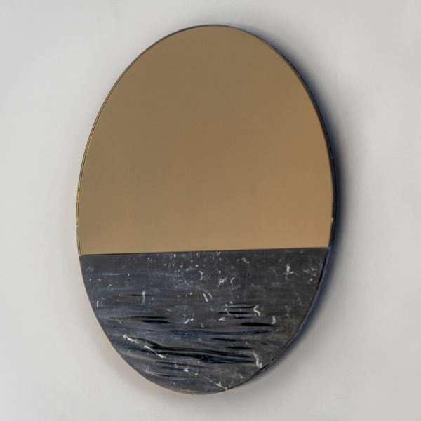 Orizon Blacksea Round Mirror