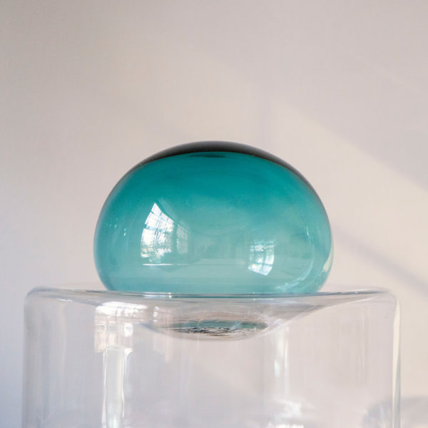 Dew + Drop Mountain Blue Table Lamp