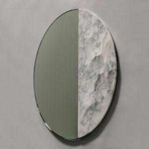 Snowmotion Round Mirror