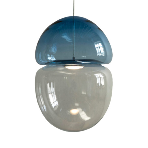 Dew + Drop Light Blue Pendant
