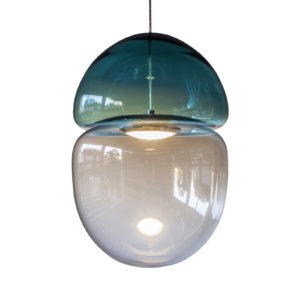 Dew + Drop Light Blue Pendant Delisart