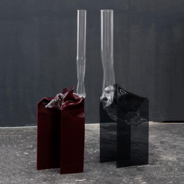 Blown Vase Bordeaux