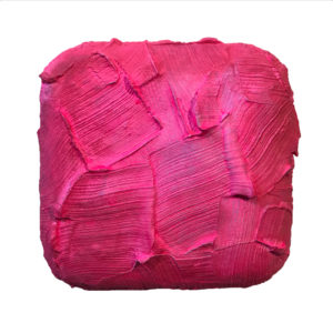 Pink Painted Sculpture