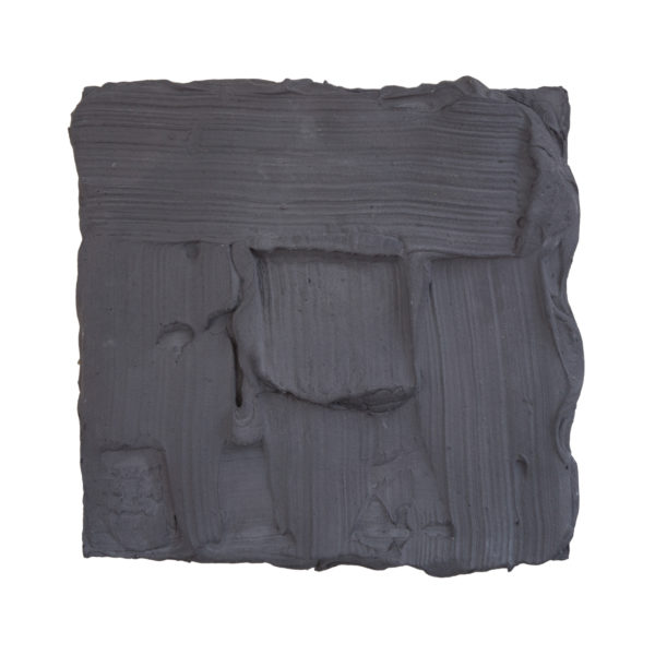 Grey Painted Sculpture 03