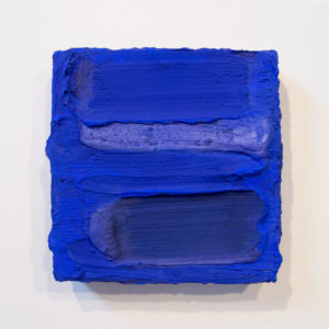 Ultramarine Painted Sculpture 01