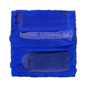 Ultramarine Painted Sculpture 04 Delisart