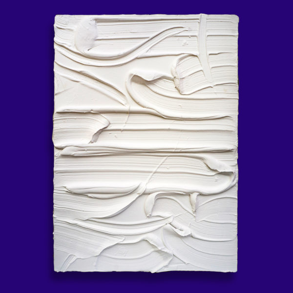 White Painted Sculpture 07