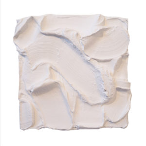 White Painted Sculpture 02
