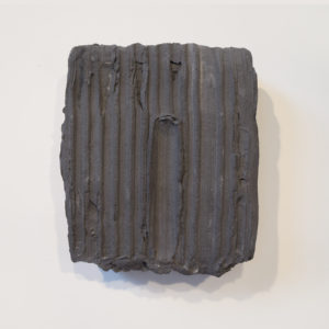Grey Painted Sculpture 02
