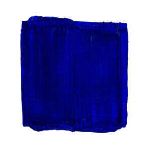 Ultramarine Painted Sculpture 02