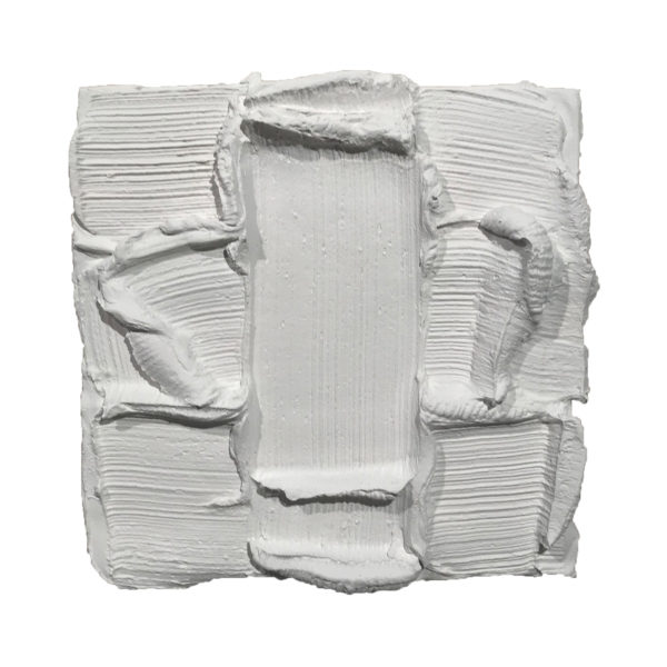 White Painted Sculpture 05