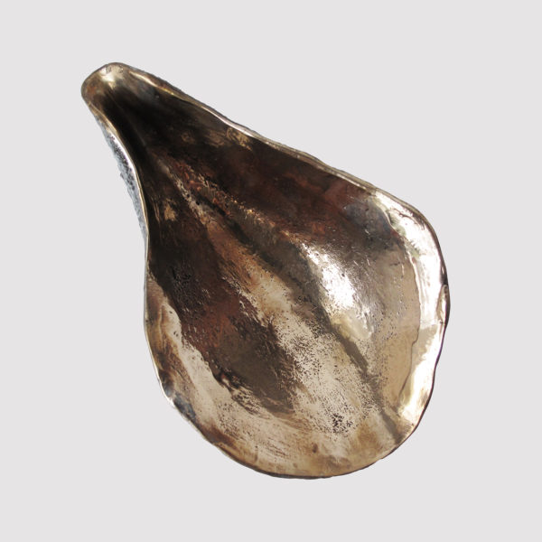 Oyster Solid Bronze Dish