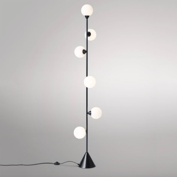 Vertical Globe Floor Lamp