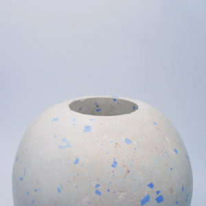 White and Blue Jar