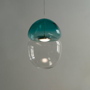 Dew + Drop Mountain Blue Pendant