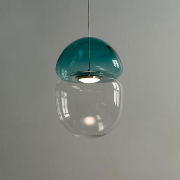 Dew + Drop Mountain Blue Pendant