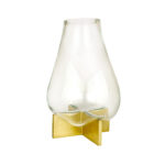 Moth to a Flame Scented Candle Amber Cone Small